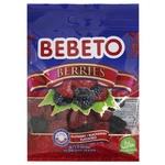 Цукерки жувальні Bebeto Ягоди 70г