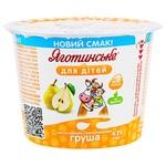 Творожная паста Яготинське для детей Груша 4,2% 100г