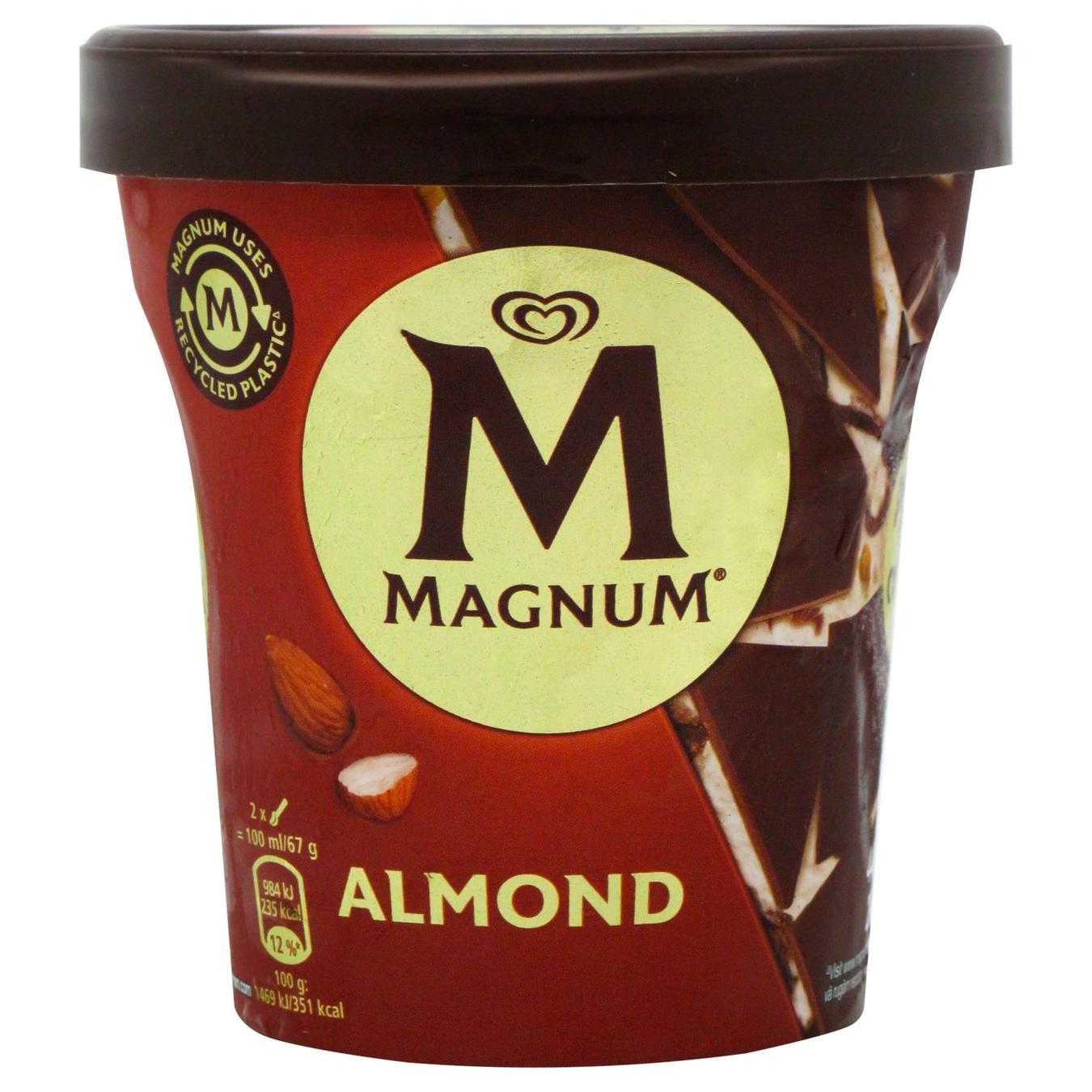 Мороженое Magnum Almond эскимо 297г