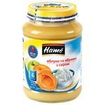 Hame Apple and Apricot with Cottage Cheese Puree 190g
