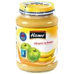 Пюре Hame яблуко та банан 190г