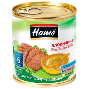 Пюре Hame говядина 100г