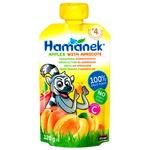 Пюре Hamanek яблоко с абрикосом 120г