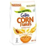 Готовий сухий сніданок NESTLÉ® HONEY NUT CORN FLAKES без глютену 500г