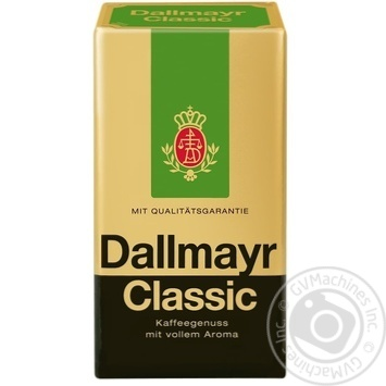 Ground coffee Dallmayr Classic 500g - buy, prices for MegaMarket - image 1