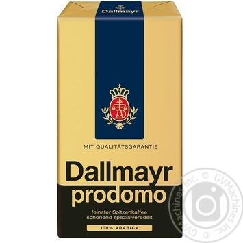 Ground coffee Dallmayr Prodomo 250g - buy, prices for MegaMarket - image 1