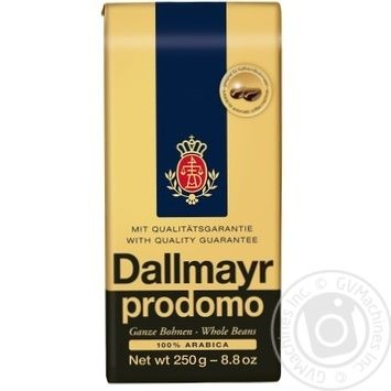 Coffee Dallmayr in grains 250g - buy, prices for MegaMarket - image 1
