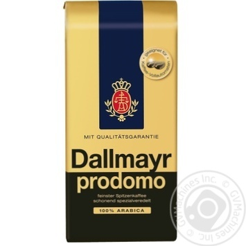 Coffee beans Dallmayr Prodomo 100% Arabica 500g - buy, prices for MegaMarket - image 1