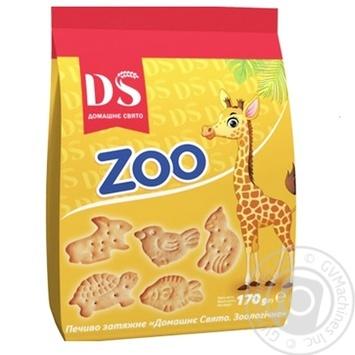 Печенье Домашне свято Зоологическое 170г - купить, цены на Novus - фото 1