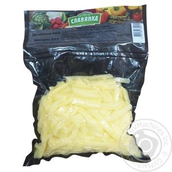 Картофель для жарки Славянка 500г - купить, цены на Ашан - фото 1