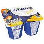 Campina Fruttis Yogurt product Creamy pleasure Peach-Pear and Banana 5.8% 4*125g