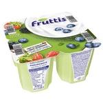 Продукт йогуртовый Fruttis Легкий 0,2% Черника-Лесные ягоды 4х125г