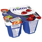 Продукт йогуртовый Fruttis Сливочное наслаждение 5,8% Клубника-Вишня 4х125г