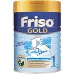 Суха адаптована початкова молочна суміш Friso Gold 1 Lock Nutri для дитячого харчування з народження до 6 місяців 800г