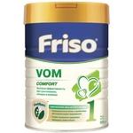 Суха молочна суміш Friso VOM 1 COMFORT для дітей від 0 до 6 місяців зі зригуваннями кольками і закрепами 800г