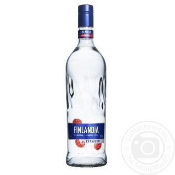 Водка Финляндия Клюква белая 37.5% 1л - купить, цены на Novus - фото 1