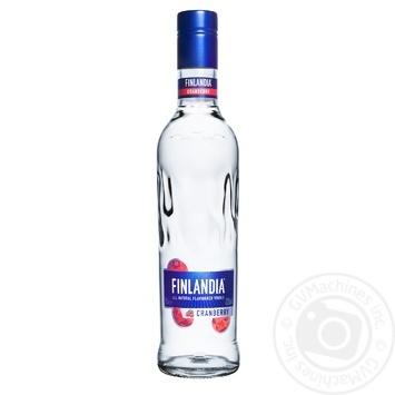 Водка Finlandia Клюква белая 37.5% 0,5л - купить, цены на СитиМаркет - фото 1