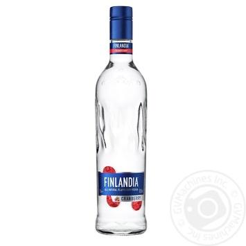 Водка Финляндия Клюква белая 37.5% 0,7л - купить, цены на Novus - фото 1