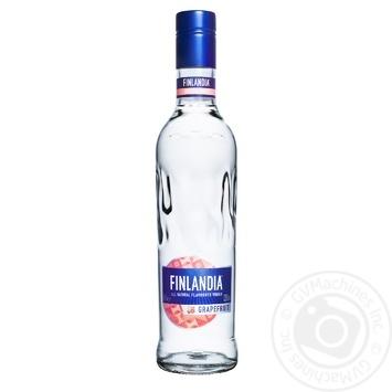 Горілка Finlandia Грейпфрут 37.5% 0,5л - купити, ціни на CітіМаркет - фото 1