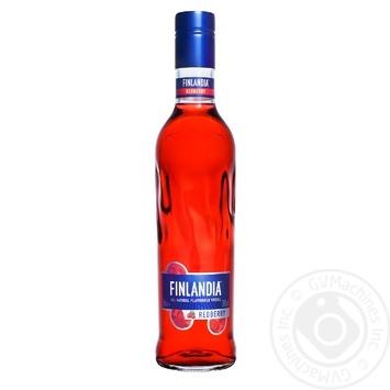 Водка Finlandia Клюква красная 37.5% 0,5л - купить, цены на Ашан - фото 1
