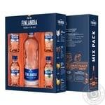 Finlandia Vodka 40% 0,5l and 4 taste mini - buy, prices for Novus - image 1