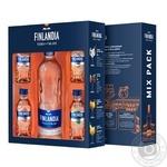Finlandia Vodka 40% 0,5l and 4 taste mini