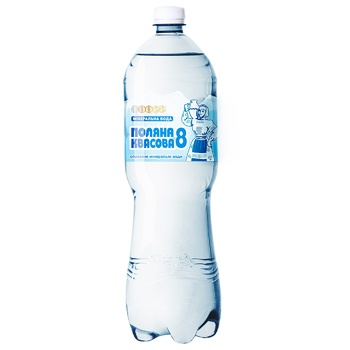 Poliana Кvasova -8 Sparkling Medical-Table Mineral Water 1,5l - buy, prices for Auchan - photo 1