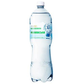 Вода Лужанська мінеральна лікарська газована 1,5л - купити, ціни на CітіМаркет - фото 1