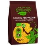 Пластівці кукурудзяні Сквирянка органічні 400г - купити, ціни на CітіМаркет - фото 1