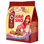 Печиво АВК Kresko хрусткі фігурки шоколадний смак 170г