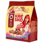 Печенье хрустящие фигурки Kresko шоколадный вкус 74г