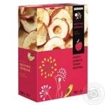 Яблоки красные Sergio сушеные кольцами 150г