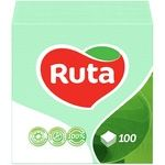 Paper napkins Ruta green 1-ply 24*24cm 100pcs - buy, prices for Novus - image 1