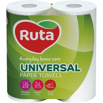Ruta White Paper Towels 2layer 2pcs