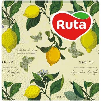Серветки Ruta Art Кухня Мікс двошарові 33х33см 20шт в асортименті - купити, ціни на ЕКО Маркет - фото 1