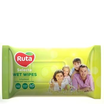 Салфетки влажные Ruta Selecta для всей семьи 60шт