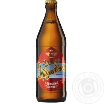 Пиво Опілля Жигулевское светлое 4% 0,5л - купить, цены на Фуршет - фото 2