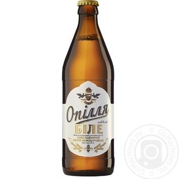 Пиво Ополье Белое светлое 4% 0,5л - купить, цены на Фуршет - фото 1