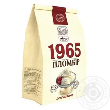 Мороженое Лимо Пломбир 1965 в бумажном пакете 700г - купить, цены на Фуршет - фото 1