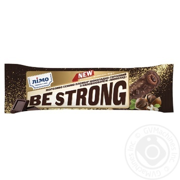 Limo Be Strong chocolate-nut ice-cream 65g - buy, prices for Furshet - image 1