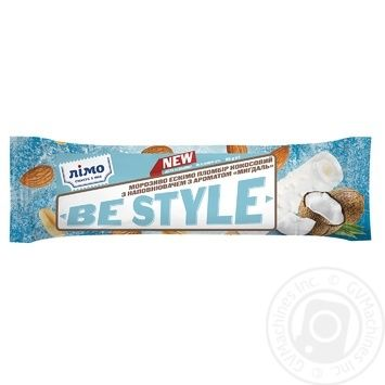 Limo Be Style with almond flavor coconut ice-cream 65g - buy, prices for Novus - image 1