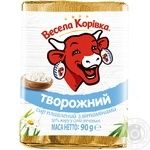 Vesela Korivka Processed cheese Tvorozhyj with vitamins 50% 90g