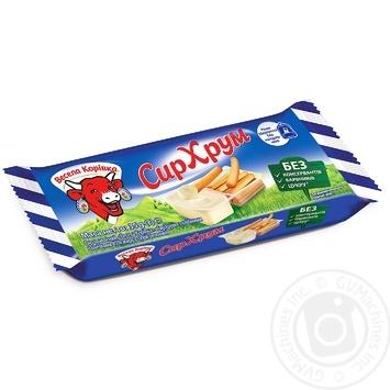 Сир плавлений Весела Корівка з хлібними паличками 45% 35г - купити, ціни на Novus - фото 2
