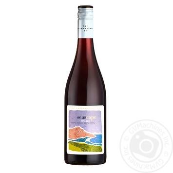 Вино The Capeography Co Seascape Мальбек красное сухое 14,5% 0,75л