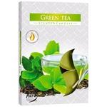 Bispol Green Tea Candle 6pcs
