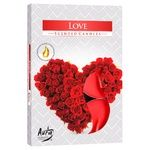 Bispol Love Candle 6pcs