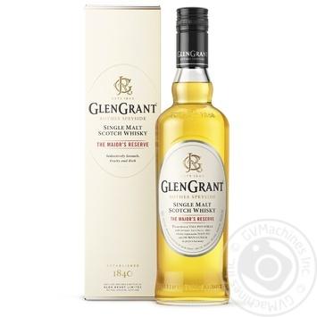 Віскі Glen Grant The Major's Reserve 40% 1л - купити, ціни на Ашан - фото 1