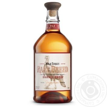 Віскі Wild Turkey Rare Breed Bourbon Whiskey 58.4% 0.75л - купити, ціни на МегаМаркет - фото 1