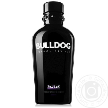 Джин Bulldog London Dry Gin 40% 0,7л - купити, ціни на МегаМаркет - фото 1