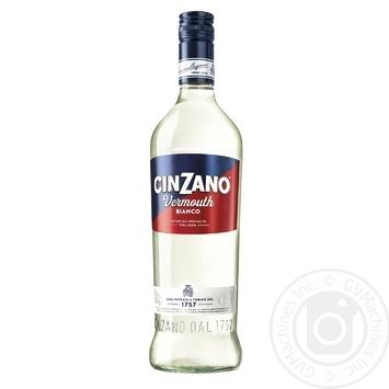 Вермут Cinzano Bianco 15% 1л - купить, цены на Метро - фото 1
